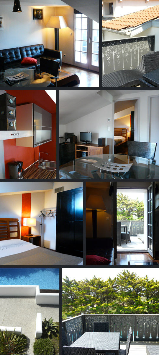 Villa Clara - 4-star Tourist residence - Anglet - France | Accommodation - 2 bedroom 2/4 person